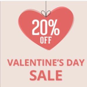 20% Valentines Day Sale!*_15% 2+ Bundle Discount!*